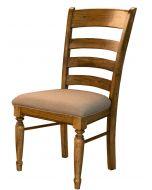 Bennett Ladderback Upholstered Dining Side Chair Set of 2