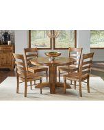 Bennett Pedestal 48'' Extendable Oval Dining Table
