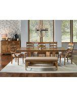 Bennett Trestle 72'' Extendable Rectangular Dining Table