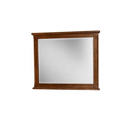 Artisan & Post Amish Cherry Villa Landscape Dresser Mirror