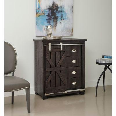 15200 Four Drawer One Sliding Door Cabinet Lodi
