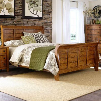 Liberty Furniture Grandpas Cabin Sleigh bed
