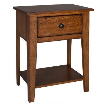 Liberty Furniture Grandpas Cabin Kids One Drawer Nightstand