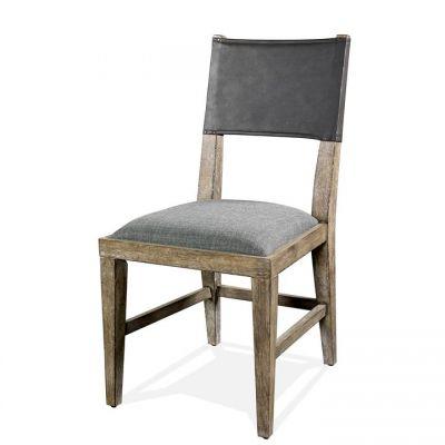 Riverside Milton Park Upholstered Seat Side Chair Set of 2
