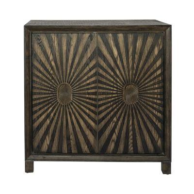 Liberty Furniture Two Door Wine Accent Cabinet