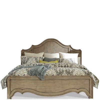 Corinne King Curved Panel Platform Bed