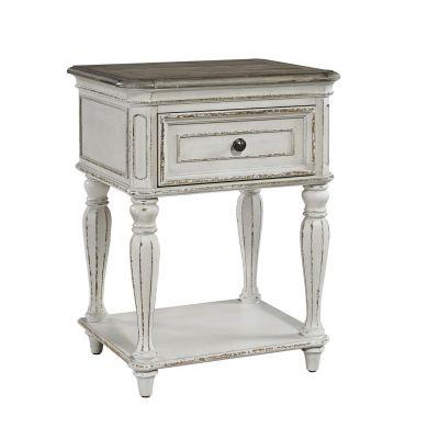 Liberty Furniture Magnolia Manor Leg Nightstand