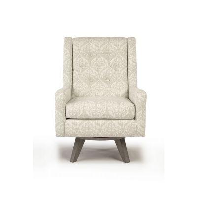 Kale Swivel Barrel Chair Wood-Ridge