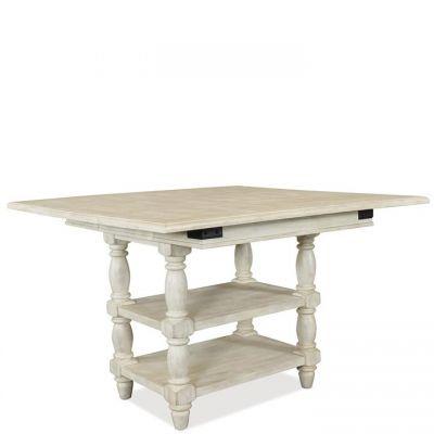 Riverside Regan Counter Height Dining Table