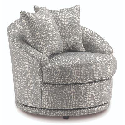 Alanna Swivel Barrel Chair Cresskill