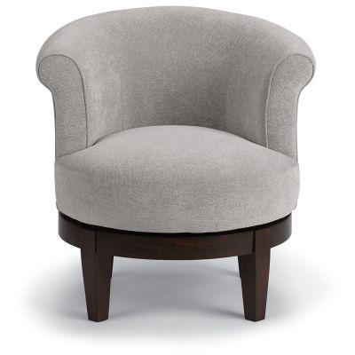 Swivel Barrel Chair Woodcliff Lake