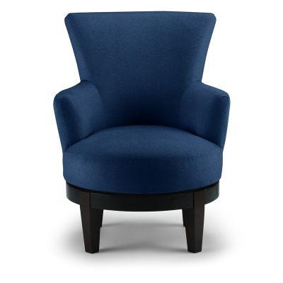 Justine Swivel Barrel Chair Carlstadt