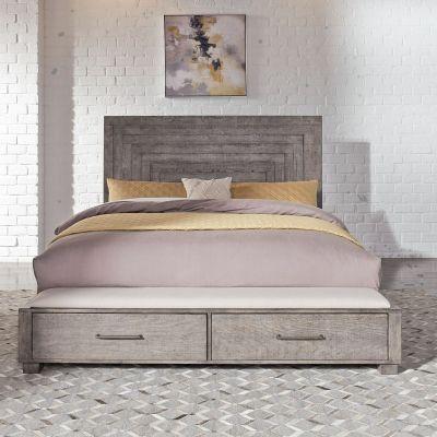 Liberty Furniture Modern Farmhouse Storage Bed