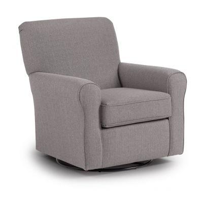 Hagen Swivel Glider Accent Chair New Milford