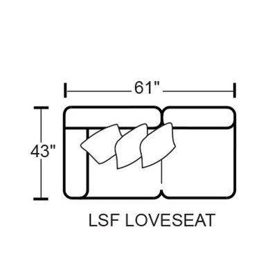 Denali 4378 LSF Loveseat