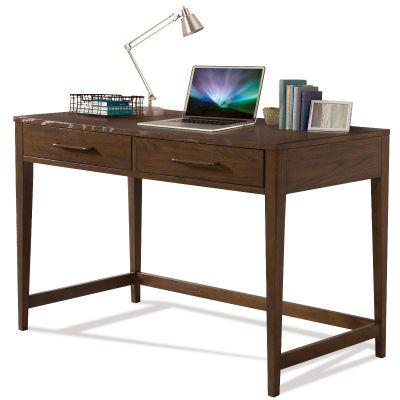 Riverside Vogue Brown Oak Writing Desk