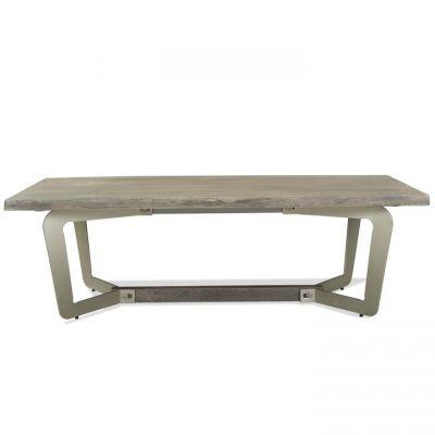 Riverside Waverly Sandblasted Gray Coffee Table