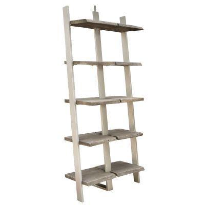 Riverside Waverly Sandblasted Wall Standing Bookcase