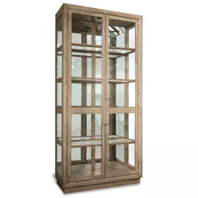 Riverside Sophie Natural Display Cabinet