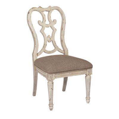 American Drew Southbury Light Brown Cortona Side Dining Chair