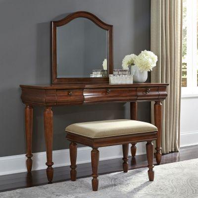 Liberty Furniture Rustic Traditions Cherry Three Piece Vanity Set