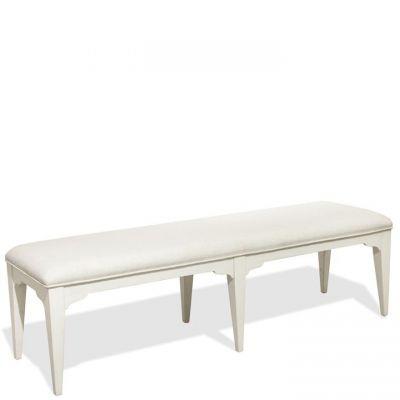 Riverside Myra Upholstered Dining Bench