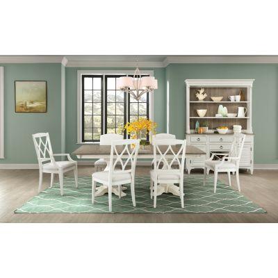 Riverside Myra Seven Piece Dining Room Set