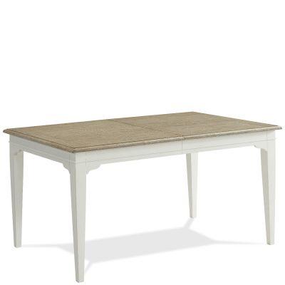 Riverside Myra Rectangular Leg Dining Table