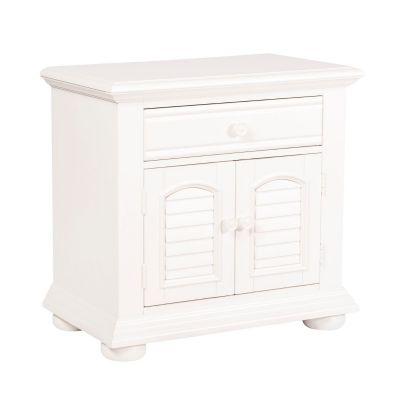 Liberty Furniture Summer House I White Nightstand