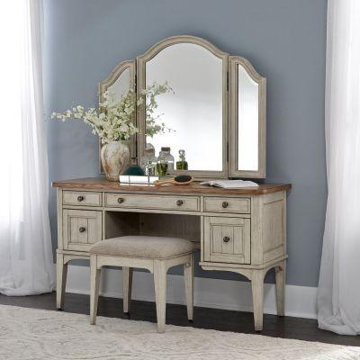 Liberty Furniture Farmhouse Reimagined Bedroom Vanity Set