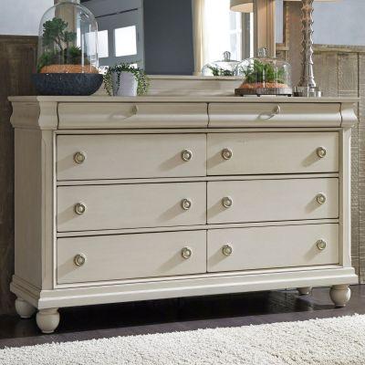 Liberty Furniture Rustic Traditions II White Dresser
