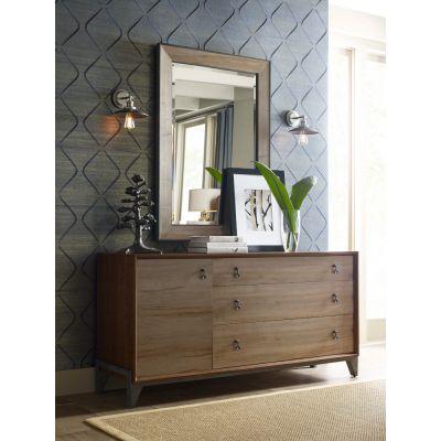 American Drew AD Modern Synergy Maple Nouveau Dresser