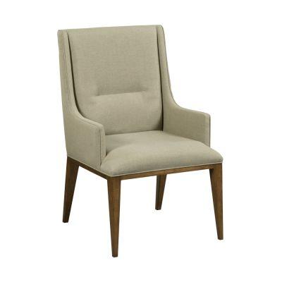 American Drew AD Modern Synergy Grey Contour Arm Chair