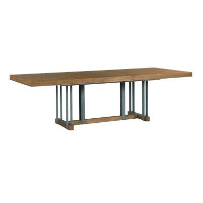 American Drew AD Modern Synergy Walnut Curator Rectangular Dining Table