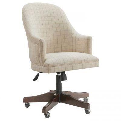 Riverside Rosemoor Burnt Caramel Upholstered Desk Chair