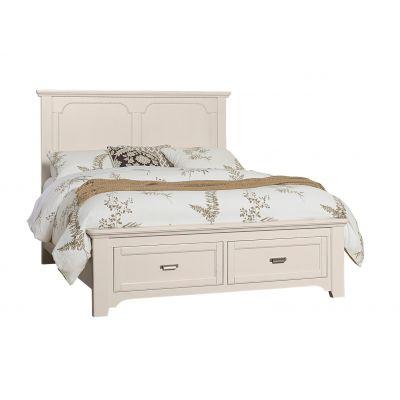 Vaughan Bassett Bungalow Mantel Storage Bed