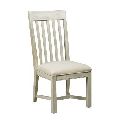 American Drew Litchfield White James Side Chair