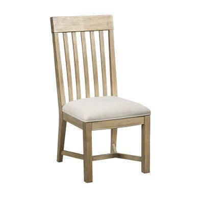 American Drew Litchfield Driftwood James Side Chair