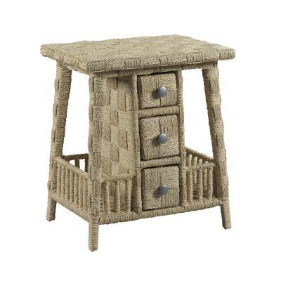 American Drew Litchfield Driftwood Carolina Accent Table