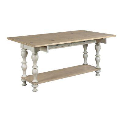 American Drew Litchfield Light Wood Lakeside Flip Top Table