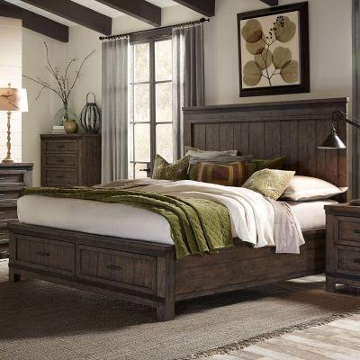 Liberty Furniture Thornwood Hills Storage bed