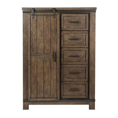 Liberty Furniture Thornwood Hills Sliding Door Chest