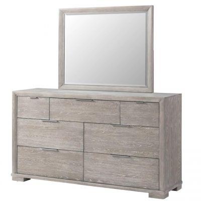 Riverside Remington Urban Gray Dresser Mirror