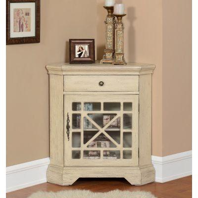 78698 One Drawer One Door Corner Cabinet  Norwood