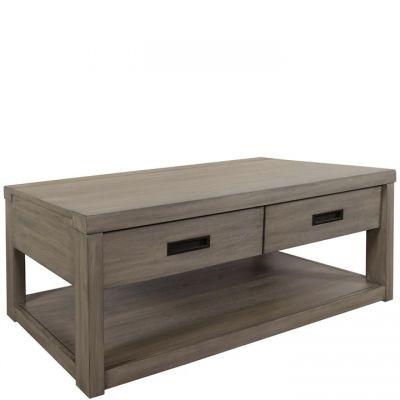 Riverside Riata Gray Wash Coffee Table