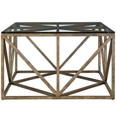 Authenticity Truss Square Coctail Table Glen Rock