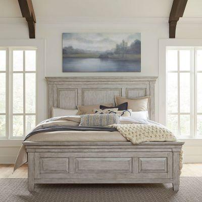 Liberty Furniture Heartland Antique KingPanel bed-