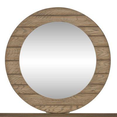 Liberty Furniture Heartland Brown Round Dresser Mirror