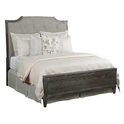 American Drew Ardennes Black Lorraine Upholstered Bed