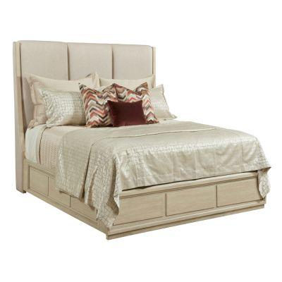American Drew Lenox Beige Siena Uphostered Bed